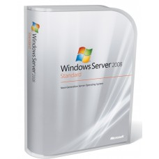 Windows Server Standard 2008 R2 W/SP1 64Bit x64 English 1pk DSP OEI DVD 1-4CPU 5 Clt